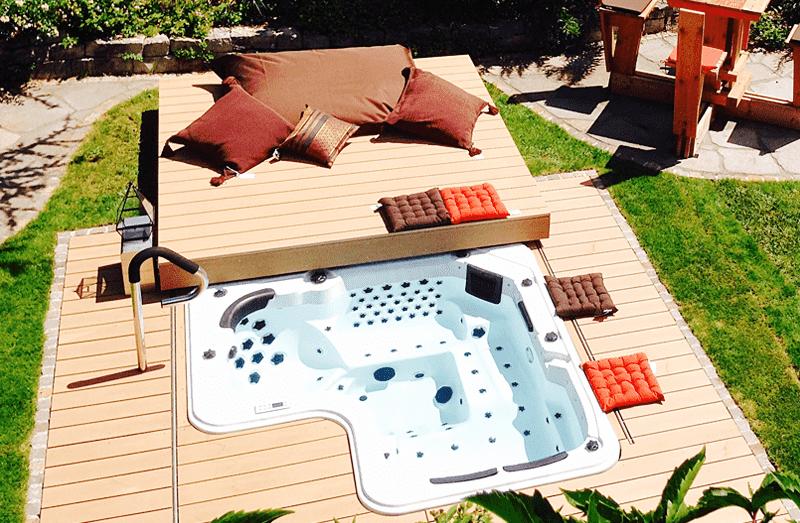 Whirlpool Für Aussen outdoor- und außenwhirlpools, swimspas | viva-aqua gmbh